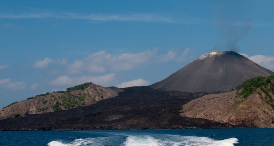 TRIP TO 'BARREN ISLAND'- India's only active volcano is located in the Andamans